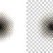 [Photoshop] 白黒画像の白い部分を透明にする