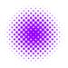 [Photoshop] 水玉模様を作る--カラーハーフトーンを使う